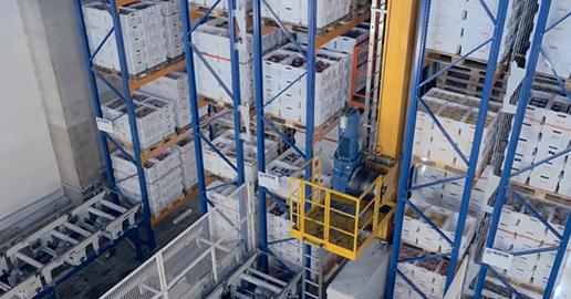 HKScanin logistiikkakeskuksen laitteistojen kokonaiskäytettävyys on 98,6 %