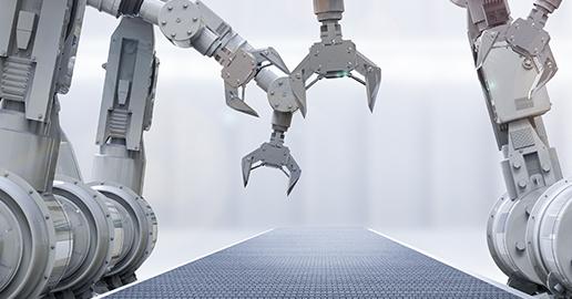 Robotin tekemä työ on tasalaatuista