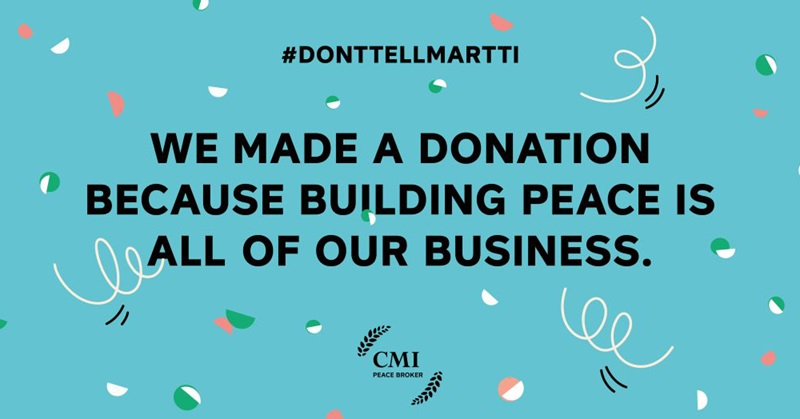 CMI- Don't tell Martti