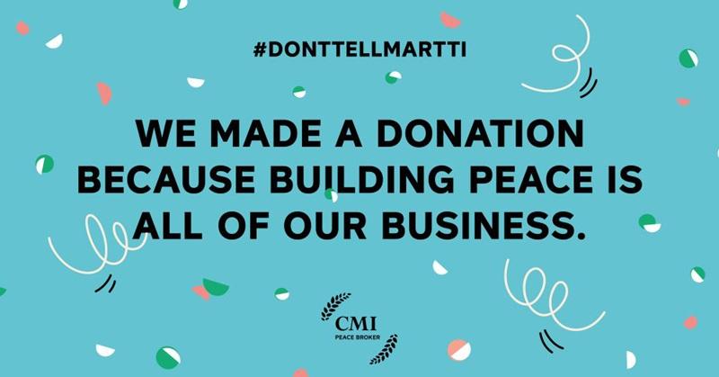 CMI- Don't tell Martti