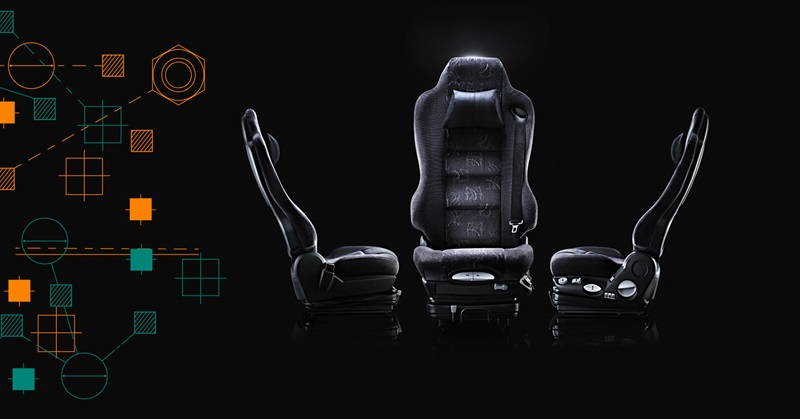 Grammer driver seats