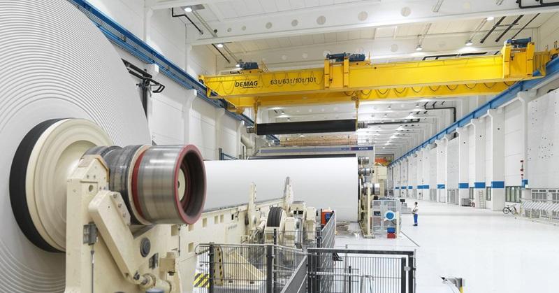 Demag Metsä- ja paperiteollisuuden nosturit