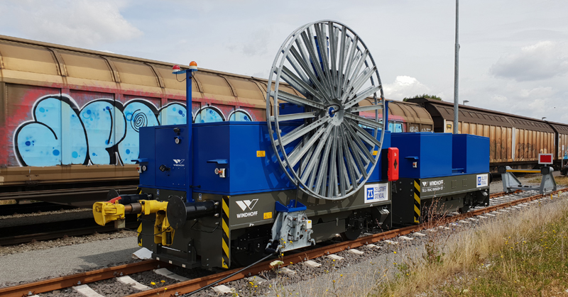 Rail service equipment
